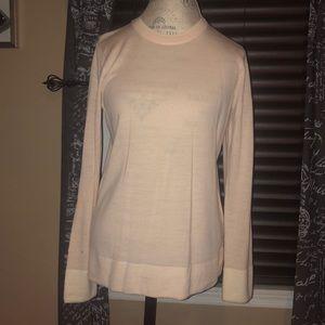 Club Monaco Italian Yarn Pink Sweater - Large